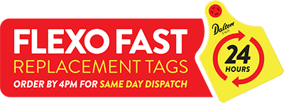 Flexo Fast Replacement Tags